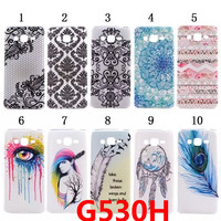Coque Grand Prime G530H Ultrathin TPU Fashion Painting Case For Samsung Galaxy Grand Prime Case G530 Soft Silicone Cover *