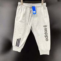 ADIDAS Fashion leisure loose sports half length pants Grey