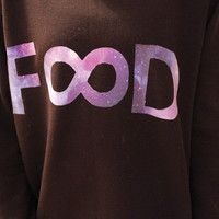 So Fetch Clothing — Food Galaxy Infinity Sweatshirt