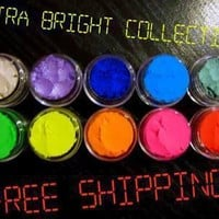 10 MYO Ultra Bright Eyeshadow Pigment Mica Cosmetic Mineral Makeup Limited Color