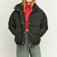 Light Before Dark Cropped Puffer Jacket - Urban Outfitters