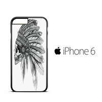 Skull Indian Chief A iPhone 6 Case