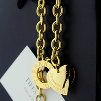 tiffany and co necklace gold
