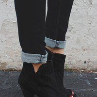 Gone Rouge Booties