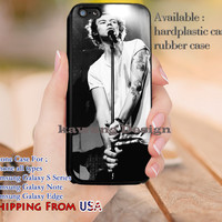 Singing Harry Styles One Direction iPhone 6s 6 6s+ 5c 5s Cases Samsung Galaxy s5 s6 Edge+ NOTE 5 4 3 #music #1d dl14