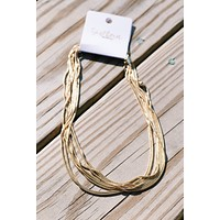 Regina Rope Chain Necklace, Gold