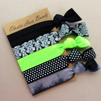 The Lime Sophisticated Hair Tie Ponytail Holder Collection