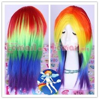 Tengs My Little Pony Friendship is Magic Cosplay Custome Wig