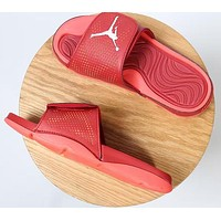 Air jordan Woman Men Fashion Beach Slippers Sandals Shoes