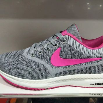 """Nike"" Women Sport Casual Fashion Flyknit Sneakers Running Shoes"