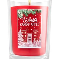Medium Candle Winter Candy Apple