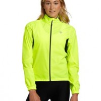 Pearl Izumi Women's Select Barrier Jacket, Screaming Yellow, Large