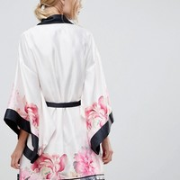 B By Ted Baker Painted Posey Kimono at asos.com