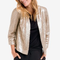 Sequin Bolero Jacket