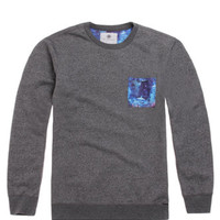 On The Byas Randy Sublimated Pocket Crew Fleece at PacSun.com