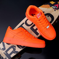 Trendsetter 7 Colors NIKE Air force 1 Women Men Running Sport Casual Solid Color Shoes  [9239190279]