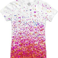sparkly pink Women's T-Shirts by Marianna Tankelevich | Nuvango