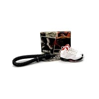 3D Sneaker Keychain- Air Jordan 5 Fire Red Pair