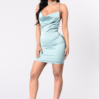 Queen Of Romance Dress - Sage