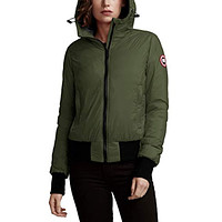 Canada Goose Dore Down Hooded Jacket Military Green
