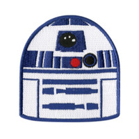 Star Wars R2-D2 Head Iron-On Patch