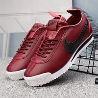 Nike Classic Cortez nylon Woman Men Fashion Sneakers Sport Shoes