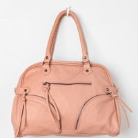 Deena & Ozzy Zip-Stitch Satchel