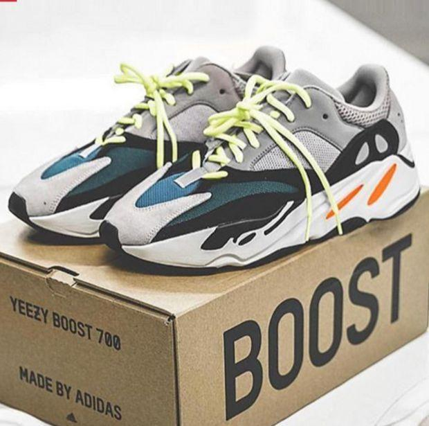 Image of Adidas Yeezy 700 Runner Boost Fashion Casual Running Sport Shoes
