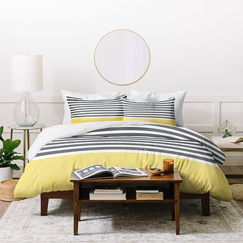 Hello Twiggs Elegant Stripes Duvet Cover