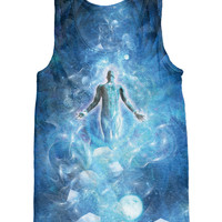 Astral Spirit astrology universe galaxy psychedelic tank top Alterception, 10% off coupon code: 030609