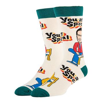 You Are Special - Mr. Rogers Crew Socks