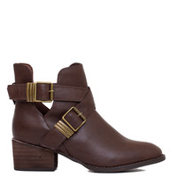 Clementine Ankle Boots - Brown