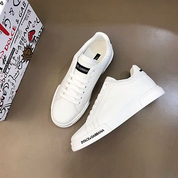 D&G  Men Fashion Boots fashionable Casual leather Breathable Sneakers Running Shoes12