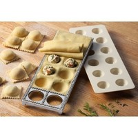 Collections Etc - Italian Cooking Stuffed Ravioli Pasta Maker Pan