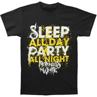 Motionless In White Men's  Sleep All Day T-shirt Black Rockabilia