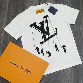 LV  Fashion casual relaxed T-shirt