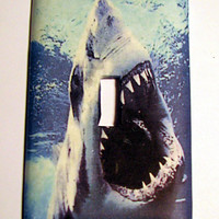 Light Switch Cover - Light Switch Shark Attack