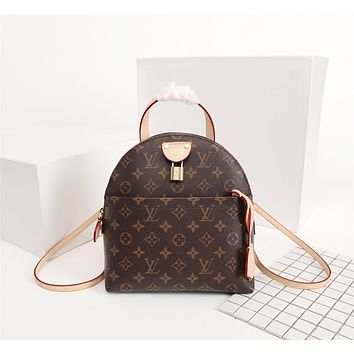 LV Louis Vuitton MONOGRAM CANVAS BACKPACK BAG
