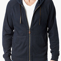 Raw Edge Hoodie In Midnight Navy | 7 For All Mankind