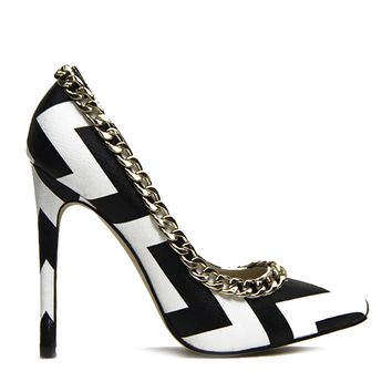 GET TO THE POINT CHEVRON PUMP
