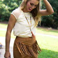 Western Girls Skirt