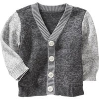 Old Navy Marled Colorblocked Cardigans For Baby