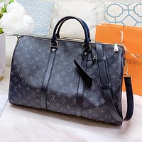 Louis Vuitton LV Popular Men Women Leather Luggage Travel Bag Handbag Tote Shoulder Bag