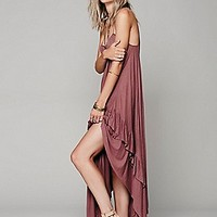 Heart Strings Lace Up Dress