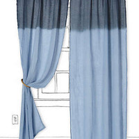 Anthropologie - Ombre Waves Curtain