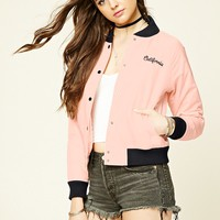 Girl Club Baseball Jacket