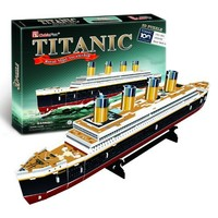 Cubic Fun RMS Titanic Ship 3D Puzzle Small 35 Pieces