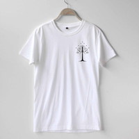 White Tree of Gondor Shirt The Lord of the Rings Shirt TShirt T-Shirt T Shirt Tee