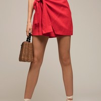 Moon River Kaia Wrap Skirt