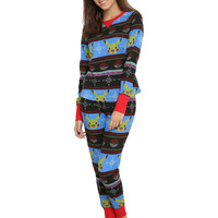 Pokemon Pikachu Girls Thermal Sleep Set